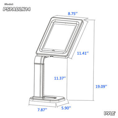 PYLE-HOME PSPADLK14 TABLET PC MOUNT Thumbnail 3