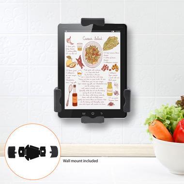 Pyle PSPADLK8 Universal Tamper-Proof Anti-Theft iPad Tablet Kiosk Stand Holder Thumbnail 8