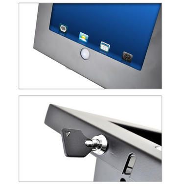 Pyle PSPADLKW5 Anti-Theft Kiosk Multi-Mount Stand for iPad 2/3/4 & iPad Air Thumbnail 7