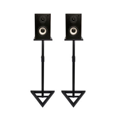 Pyle PSTND35 Heavy Duty Telescoping Speaker Stands with Height Adjustment, Set of 2 Thumbnail 4