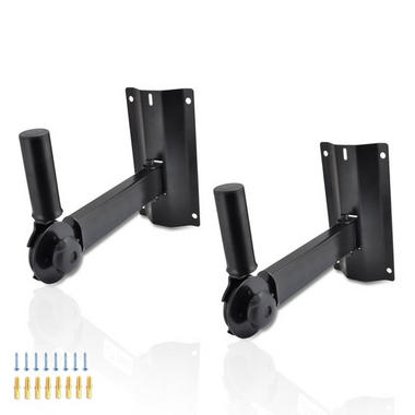 Pyle PSTNDW15 Pyle Universal Adjustable Wall Mount Speaker Bracket Stand Thumbnail 1