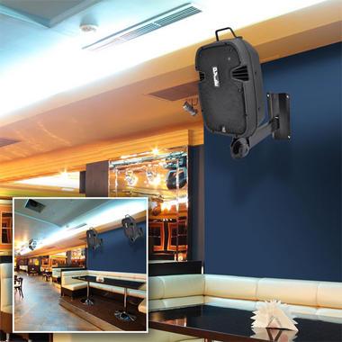 Pyle PSTNDW15 Pyle Universal Adjustable Wall Mount Speaker Bracket Stand Thumbnail 6