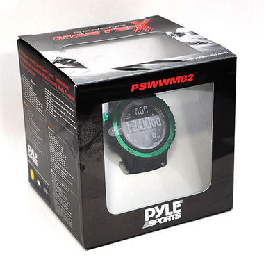 Pyle PSWWM82GN Sports Hiking Watch Altimeter Barometer Chronograph Compass Thumbnail 5