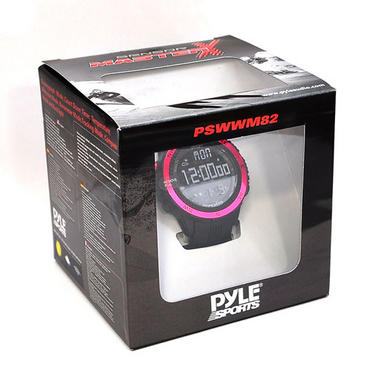 Pyle PSWWM82PN Sports Hiking Watch Altimeter Barometer Chronograph Compass Thumbnail 5