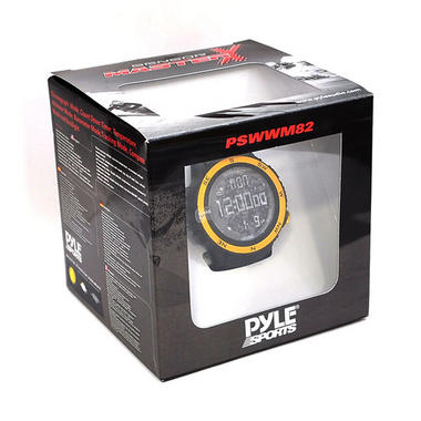 Pyle PSWWM82YL Sports Hiking Watch Altimeter Barometer Chronograph Compass Thumbnail 5