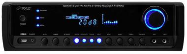 Pyle PT390AU 300W Stereo 4 Channel Home Audio Amplifier With USB MP3 Input AUX Thumbnail 3