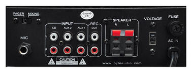 PyleHome PTA2 Mini Compact 2 x 40W Stereo Power Amplifier with AUX CD iPod Mic Thumbnail 4