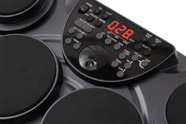 Pyle-Pro PTED01 Electronic Table Digital Drum Kit Top w/ 7 Pad Digital Drum Kit Thumbnail 3