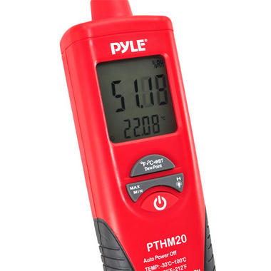 PTHM20 Temperature & Humidity Meter with Dew Point and Wet Bulb Handheld Thumbnail 3