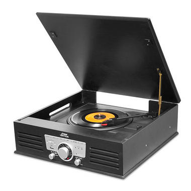 PYLE-HOME PTT25UBT 3-SPEED TURNTABLE RADIO WITH BLUETOOTH Thumbnail 1