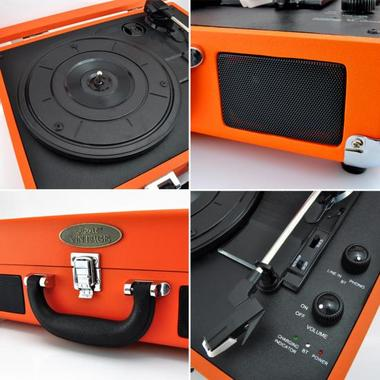 PYLE-HOME PVTTBT6OR TURNTABLE- SUITCASE B.T,  PC ENCODING Thumbnail 4