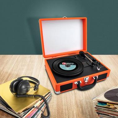 PYLE-HOME PVTTBT6OR TURNTABLE- SUITCASE B.T,  PC ENCODING Thumbnail 7
