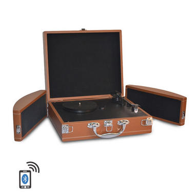 PYLE-HOME PVTTBT8BR TURNTABLE- SUITCASE B.T,  PC ENCODING Thumbnail 1