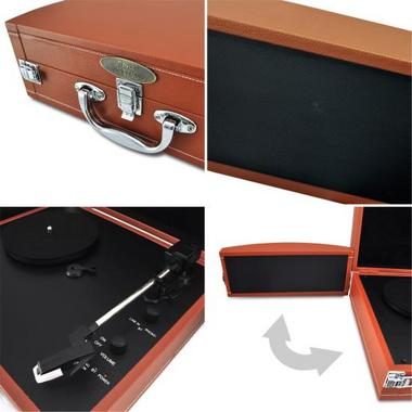 PYLE-HOME PVTTBT8OR TURNTABLE- SUITCASE B.T,  PC ENCODING Thumbnail 4