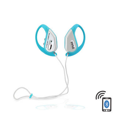 PWBH18BL Waterproof Bluetooth Swimming Wireless Earphones Built-in Mic Handsfree Thumbnail 1