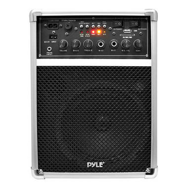 Pyle PWMA170 Dual Microphone 400w Wireless PA System Busking Battery Powered Thumbnail 3