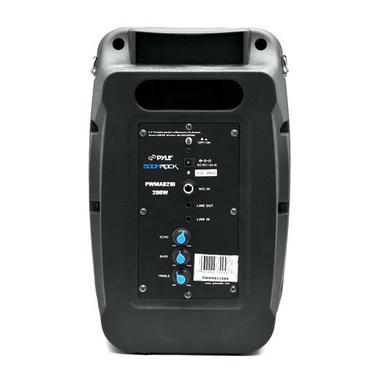 Pyle PWMAB210OR 200W Bluetooth Portable Speaker & Recorder w/ Wireless Mic Thumbnail 4