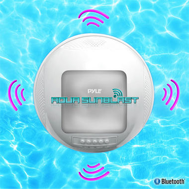 PWR95SBL Pyle Aqua SunBlast Floating Bluetooth Waterproof Pool Rechargable Thumbnail 5