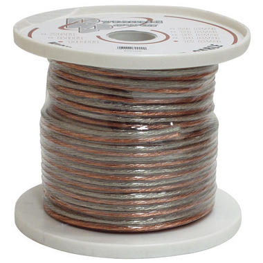 Pyramid RSW16100 16 Gauge 100 ft. Spool of High Quality Speaker Zip Wire Thumbnail 1