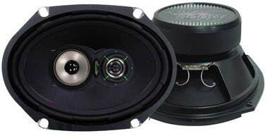 "Lanzar 6x8"" Oval Coaxial 3 Way Pair Of Car Door Shelf Speakers 520w Ford Mazda Thumbnail 1"