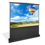 Pyle PRJSF1009 100 Inch Free Standing Portable Roll-Up Pull-Out Projector Screen