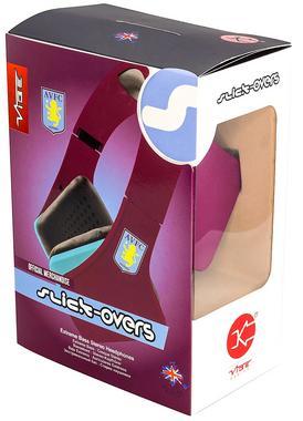 AVFC Aston Villa FC Official VIBE Over Ear Headphones Enchanced Sound Quality Thumbnail 5