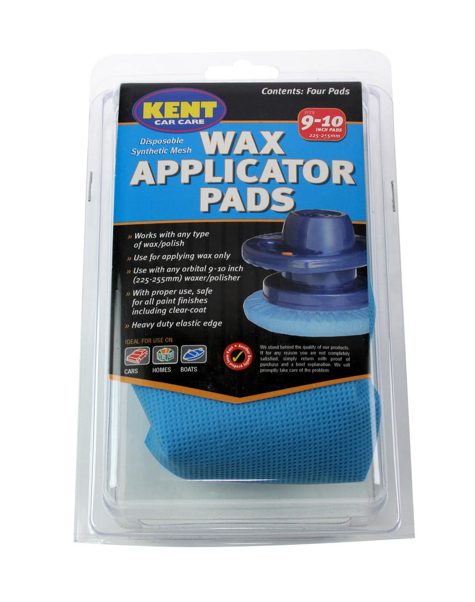 Kent Car Care Q8019 Wax Applicator Pads
