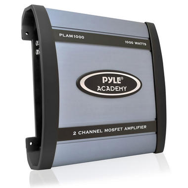 Pyle Academy 2 Ch Two Channel 1000w Blue Bridgeable Car Speaker Amplifier Amp Thumbnail 1