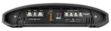 Pyle Academy 2 Ch Two Channel 1000w Blue Bridgeable Car Speaker Amplifier Amp Thumbnail 3