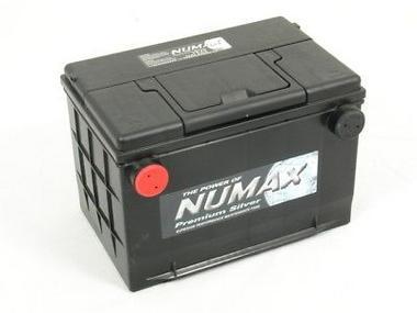 Numax Side Terminal American Heavy Duty Car Battery Thumbnail 1