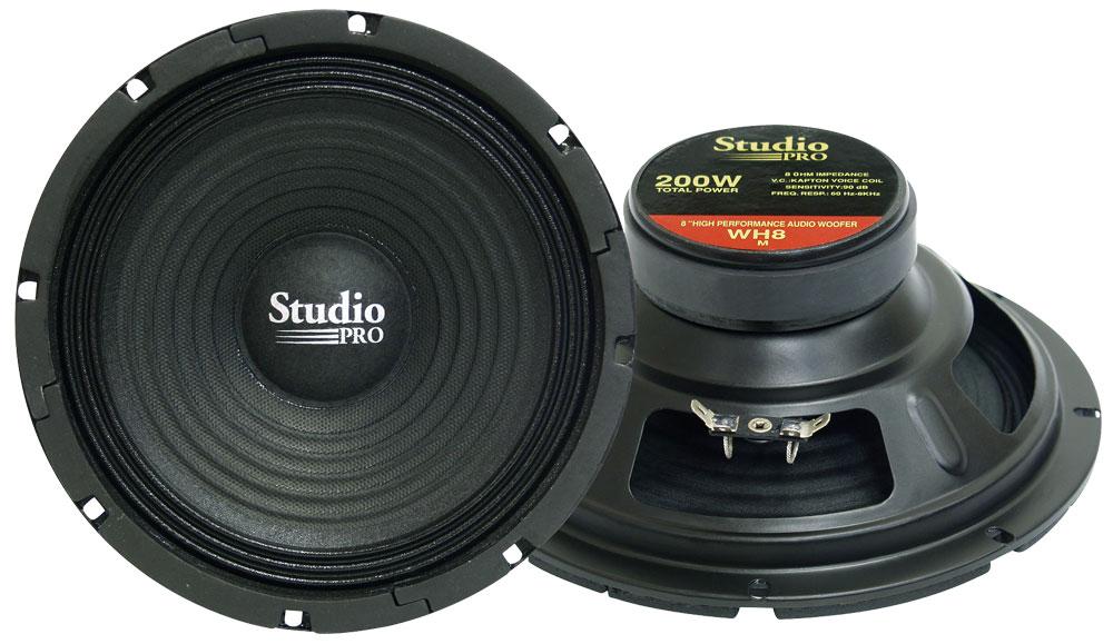 "Pyramid Studio 200w 8"" DJ Sub Disco Cabinet PA Speaker"