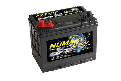 Numax CXV24MF Heavy Duty Maintenance Free Leisure Marine Battery 86 Ah 900 CCA