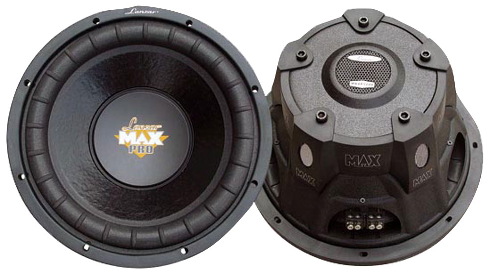 """Lanzar Max Pro Mid Bass Driver 8"""" 4 Ohm 800w In Car Audio Subwoofer Sub Woofer"""