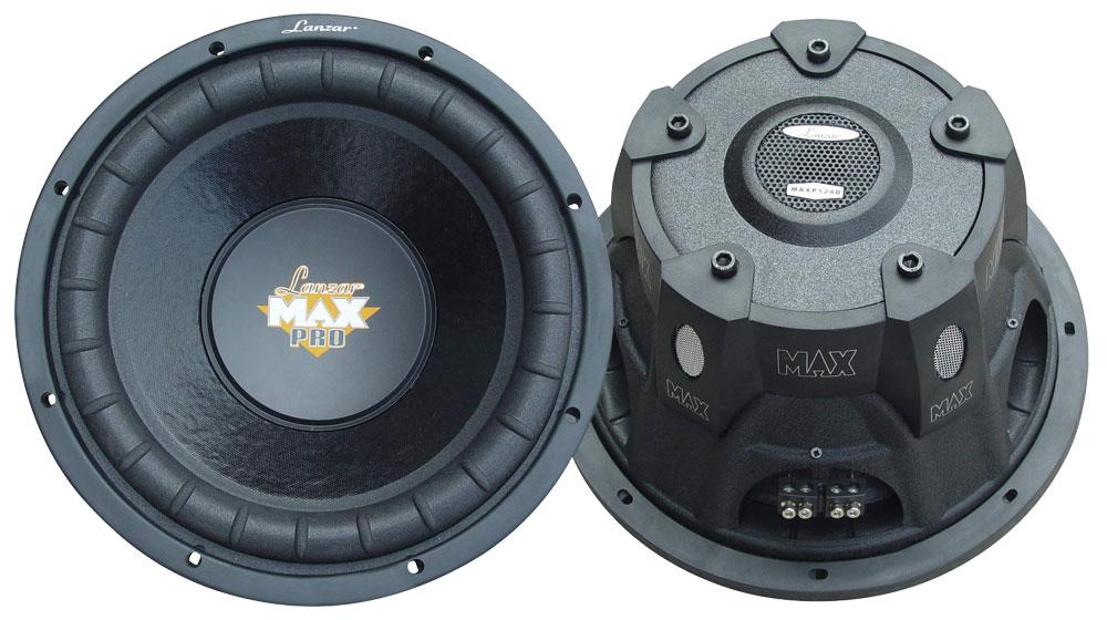 "Lanzar Max DVC 4 Ohm 10"" 1200w SPL SQ Car Subwoofer Sub Woofer Bass Driver"