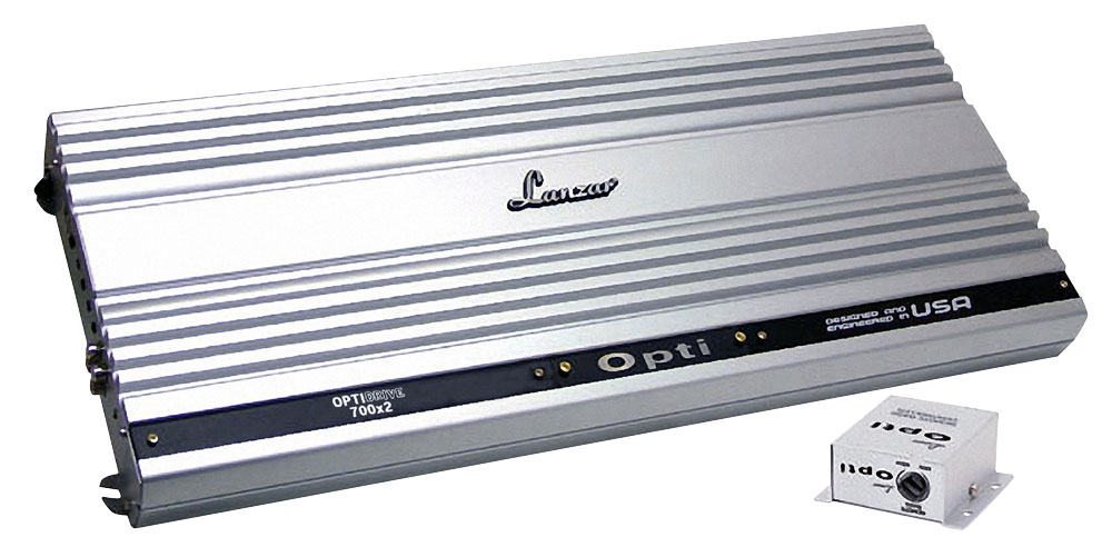 Lanzar OPTI 2 Two Channel Stereo Competition Car Speaker Amp Amplifier 2800w