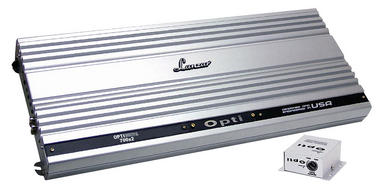 Lanzar OPTI 2 Two Channel Stereo Competition Car Speaker Amp Amplifier 2800w Thumbnail 1