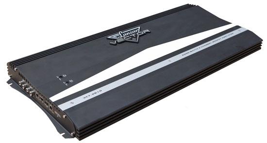 Lanzar Vector 2 Ch Two Channel 6000w Black Bridgeable Car Speaker Amplifier Amp