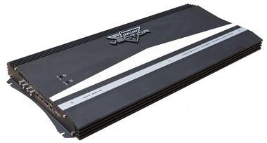 Lanzar Vector 2 Ch Two Channel 6000w Black Bridgeable Car Speaker Amplifier Amp Thumbnail 1