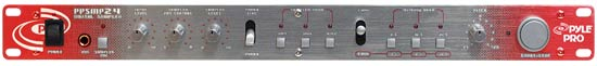 "Pyle Pro Home DJ 19"" Rack Mount Stereo Triple Memory Bank Digital Music Sampler Thumbnail 2"