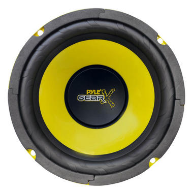 "Pyle 6.5"" Inch 300w Mid Bass Driver Car Speaker Subwoofer Sub Woofer Single Thumbnail 2"