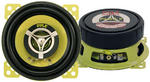 "Car Audio Coaxial Speakers Door 4"" Inch 140w Watts 4 Ohm Pyle Pair"