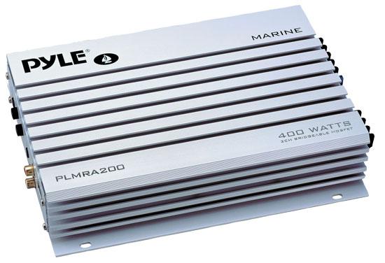 Pyle Hydra 12v Marine Audio Boat 2 Channel Stereo Speaker Amp Amplifier 400w