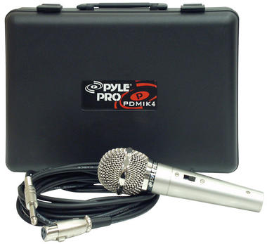PylePro PDMIK4 Dynamic Microphone with Carry Case Thumbnail 2