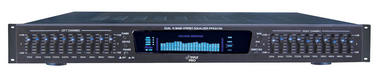 Pyle-Pro PPEQ100 19'' Rack Mount Dual 10 Band 4 Source Input Stereo Spectrum Graphic Equalizer Thumbnail 2