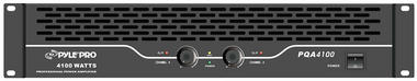 Pyle-Pro PQA4100 19'' Rack Mount 4100 Watts Professional Power Amplifier W/Digital SMT Technology Thumbnail 2