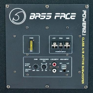 "Bassface POWER12.1 650W 12"" Inch Active Car Sub Amp Amplifier Powered Bass Box Thumbnail 3"