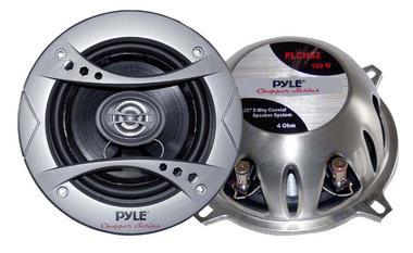 "Pyle Chopper 5.25"" 13cm 130mm 320w Car Door Shelf Two Way Coaxial Speakers Pair Thumbnail 2"