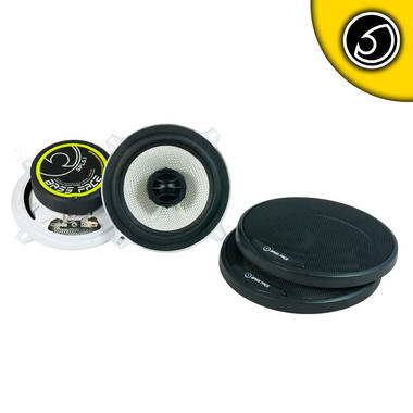 "Bassface SPL5.1 500w 5.25"" Inch 13cm Coaxial 2Way Car Door Shelf Speakers Pair Thumbnail 2"