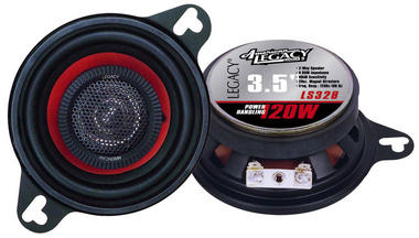 "Legacy 3.5"" 8cm 80mm 240w Coaxial Two Way Car Door Dash Speakers Mk2 Golf Etc Thumbnail 2"