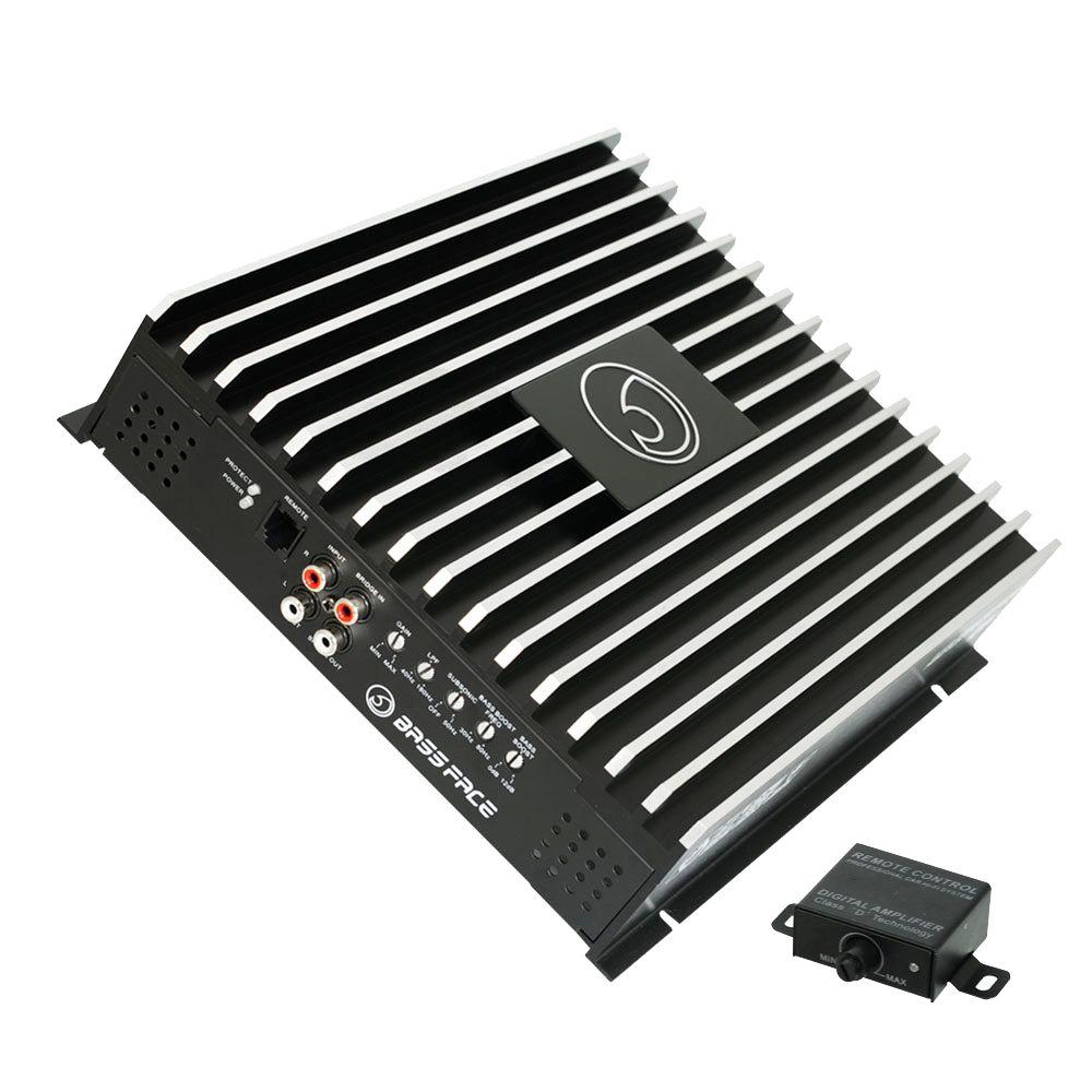 Bassface DB1.1 580w 1Ohm Class D Monoblock Car Subwoofer Amplifier Mono Sub Amp